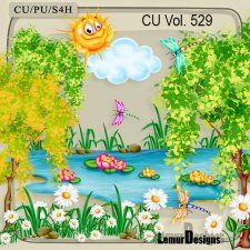 CU Vol. 529 Summer Day #CUdigitals cudigitals.com cu commercial digital scrap #digiscrap scrapbook graphics