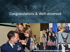 """@GCMCAlumni @doctorbrannon U.S Air Force Col. David """"DJ"""" Johnson presides over the promotion of U.S. Air Force Lt. Col. John Orchard to the rank of Colonel May 21 at the George C. Marshall Center for Security Studies. (DOD photos by Karl-Heinz Wedhorn/RELEASED)"""