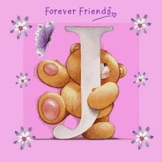 Bello Alfabeto de For Ever Friends. For Ever Friends Alphabet. Tatty Teddy, Ted Bear, Teddy Bear Images, Teddy Pictures, Fizzy Moon, Blue Nose Friends, Letter J, Alphabet And Numbers, Alphabet Letters