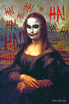I Transform Famous Paintings Into Batman Pop Art | Bored Panda