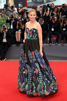 Elizabeth Banks at the 2015 Venice Film Festival. See all the stars' gowns, dresses, and jewels from the premieres.