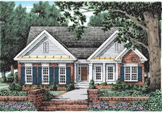 Marshall - Home Plans and House Plans by Frank Betz Associates