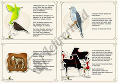 "Auszug aus dem Material ""Karneval der Tiere - Hörkartei""   #Musikunterricht #Grundschule"