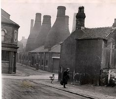 World class: Stoke-on-Trent was once littered with kilns, producing some of the most prized ceramics in the world