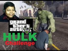 HULK CHALLENGE in GTA 5! Mod Gameplay! REACTION!