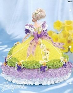 Daffodil Annie's Glorious Gowns Flower Garden Collection Crochet Patterns   eBay
