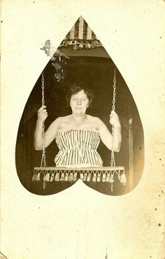 Vintage sideshow photo