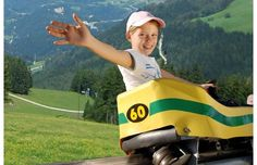 Sommerrodelbahn in Mieders, Austria - a 2.8 KILOMETER long single-track coaster that descends over 600m!