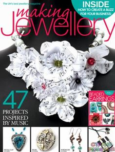 Find and save knitting and crochet schemas, simple recipes, and other ideas collected with love. Wire Jewelry Designs, Metal Jewelry, Beaded Earrings, Crochet Earrings, Craft Projects, Projects To Try, Magazine Crafts, Baby Shower Gifts For Boys, All Craft