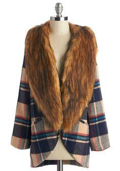 Fur-Ever Young Coat | Mod Retro Vintage Coats | ModCloth.com