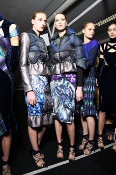 London Fall 2012 - Peter Pilotto (Backstage)