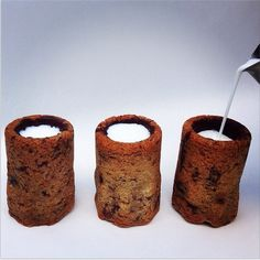 Chocolate Chip Cookie Milk Shots - Loves by Il Cucchiaio d'Argento
