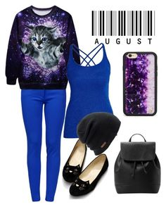 """Fun with Kitty"" by chanlee-luv ❤ liked on Polyvore featuring Boutique Moschino, Morgan, MANGO, Wildflower, Coal, women's clothing, women, female, woman and misses"