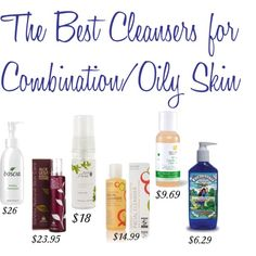 C & G's Best Facial Cleansers for Normal/Combo Skin via chicandgreendaily.com