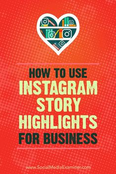 Do you want more value from your Instagram stories?  Interested in repurposing stories content on your Instagram profile?  Instagram��s Highlights feature lets you combine multiple Instagram stories into long-term content your audience can discover at thei