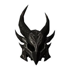 File SR-icon-armor-DaedricHelmet.png ❤ liked on Polyvore featuring armor and armour