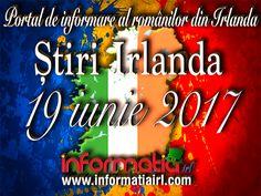 🍀🍀🍀 STIRI IRLANDA - INFORMATIA IRL - PORTAL DE INFORMARE AL ROMÂNILOR DIN IRLANDA  📰 🍀🍀🍀 🍀🍀🍀 19 iunie 2017 🍀🍀🍀  Dați Like și mai ales Share pe profilul, pagina sau grupul dumneavoastră de facebook dacă apreciați munca noastră. #informatiairl #informatia #stiridinirlanda #irlanda #romaniidinirlanda #romaniansinireland 27 Mai, Dublin, Cork, Portal, Neon Signs, Facebook, Ireland, Corks