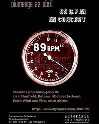 Concierto de 89 BPM, el mejor funky