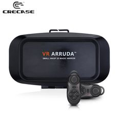 Find More 3D Glasses/ Virtual Reality Glasses Information about VR Arruda BOX Virtual Reality 3D Glasses Google Cardboard Helmet VR Magic Mirror for 3.5 6 inch Smartphone+Bluetooth Gamepad 1.0,High Quality cardboard coaster,China mirror work Suppliers, Cheap mirror moto from GUANGZHOU CRECASE FLAGSHIP STORE on Aliexpress.com