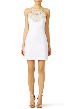 Resort White Pearl Shift by Lilly Pulitzer for $50 | Rent The Runway