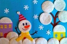 """Поделки на тему """"Зима"""" своими руками для детского сада"""