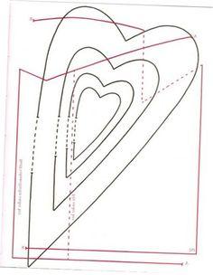 Tilda Heart Pattern