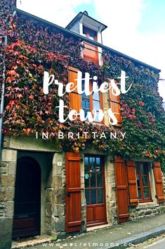 prettiest and charming towns in Brittany - France