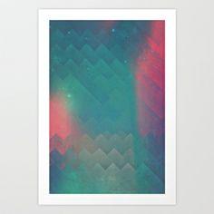 fryyndd ryqysst Art Print by spires - $20.00