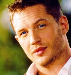 Tom hardy in my face. Yes. If you havnt seen Lawless yet you're missing out on a stellar performance by him!