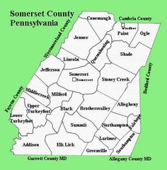 Somerset County Townships