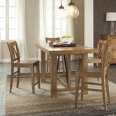 Found it at Wayfair - Summerhill Gathering Counter Height Dining Table