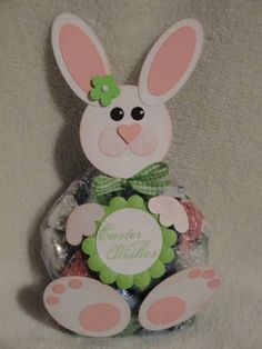 Stampin' Up!  Treat Holder  Easter Bunny Treat Bag