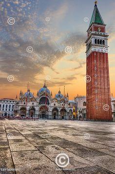 Bazilika Svatého Marka, Itálie Basilica San Marco in Piazza San Marco, Venice, Italy