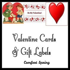 Valentine Cards & Gift Labels