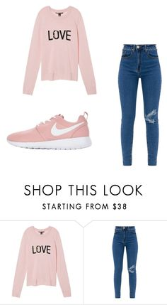 """""""Untitled #1045"""" by alanawedge59 on Polyvore featuring Victoria's Secret and NIKE"""