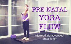 50 min Pre Natal Total Body Strong Yoga Flow   Strength, Tone, Endurance...