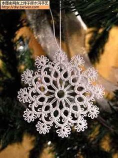 Intricate Snowflake/Motif/Medallion with pattern chart  *i*