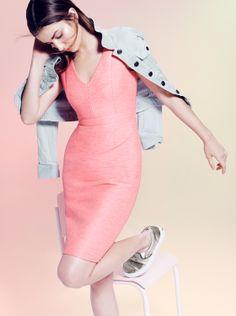 J.Crew Collection - April 2014 -  basketweave dress.