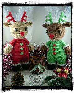 Rémi le petit renne de Noël (d'après un tuto de Croc's Betty)