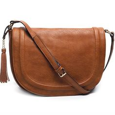 New Trending Cross Body Bags: AMELIE GALANTI Womens Saddle Bag Tassles Shoulder Crossbody Bags with Flap Top (brown). AMELIE GALANTI Womens Saddle Bag Tassles Shoulder Crossbody Bags with Flap Top (brown)  Special Offer: $59.98  333 Reviews Amelie Galanti presents the ideals of the new generation of Asian brands.Inspired by the wave of fast fashion,the brand brings to life remarkable must-see...