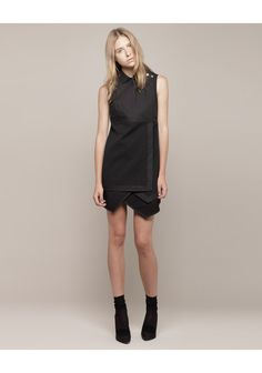 PROENZA SCHOULER | Sleeveless Asymmetrical Shirtdress | Shop at La Garçonne