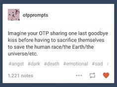 Or worse: Imagine this before HALF of your otp does this. Oh, wait, I don't have to!!!