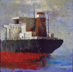 πινακεσ με ναυτικο - Αναζήτηση Google Tugboats, Ships, Paintings, Google, Projects, Art, Log Projects, Art Background, Boats