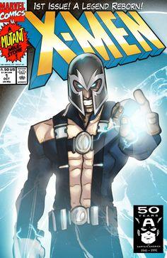 X-Men 1 Cover Redux by GavinMichelli.deviantart.com on @DeviantArt