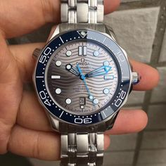 New 2018 Baselworld Best Swiss Quality Omega Seamaster Diver Replica Watches - Hot Sale. Solid Stainless Steel Watch Case / Grey Wave Stripe Dial / Blue Ceramic Bezel / Stainless Steel Watch Band Mens Omega Seamaster Diver Replica Watch New 2018 Model. Omega Seamaster Diver 300m, Seamaster 300, Omega Speedmaster, Omega Planet Ocean, Omega Seamaster Planet Ocean, Omega Snoopy, Omega Railmaster, Moon Watch, Tourbillon Watch