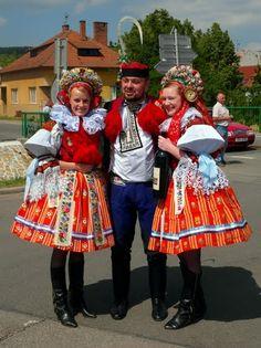 Folk costumes ofVlčnov, Czech Republic
