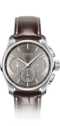 Union Glashütte BELISAR Chronograph mit Lederarmband