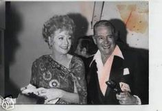 """Lucille Ball & Desi Arnaz 1971.""""I always loved the way they looked at each other. Even when they were getting old, every time the whole family came together and mom saw dad, she got that light in her eyes and had a big smile on her face."""" -Lucie"""