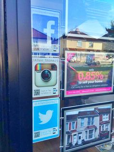A trio of tags helping turn your agency footfall into followers. Great job Allen Stone Allen Stone, Estate Agents, Followers, Action, Social Media, Tags, Things To Sell, Group Action, Social Networks