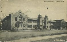 Safford Middle School, Tucson, AZ, 1920. Designed by Annie Graham Rockfellow. Collection of Lisa Bunker.